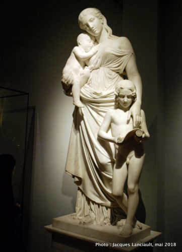 Carità educatrice, Rijksmuseum, Amsterdam, Pays-Bas