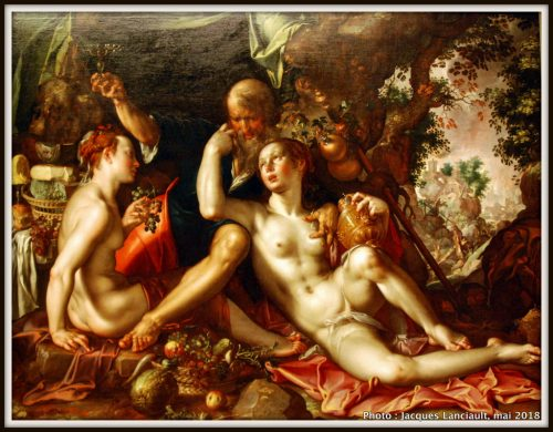 Lot et ses filles, Hermitage Amsterdam, Amsterdam, Pays-Bas