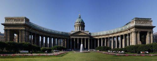 Cathédrale Notre-Dame de Kazan, St-Pétersbourg, Russie