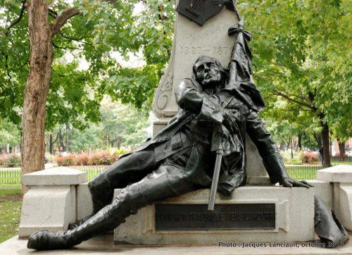 Monument Louis-Octave Crémazie, Louis-Philippe Hébert, Montréal, Québec
