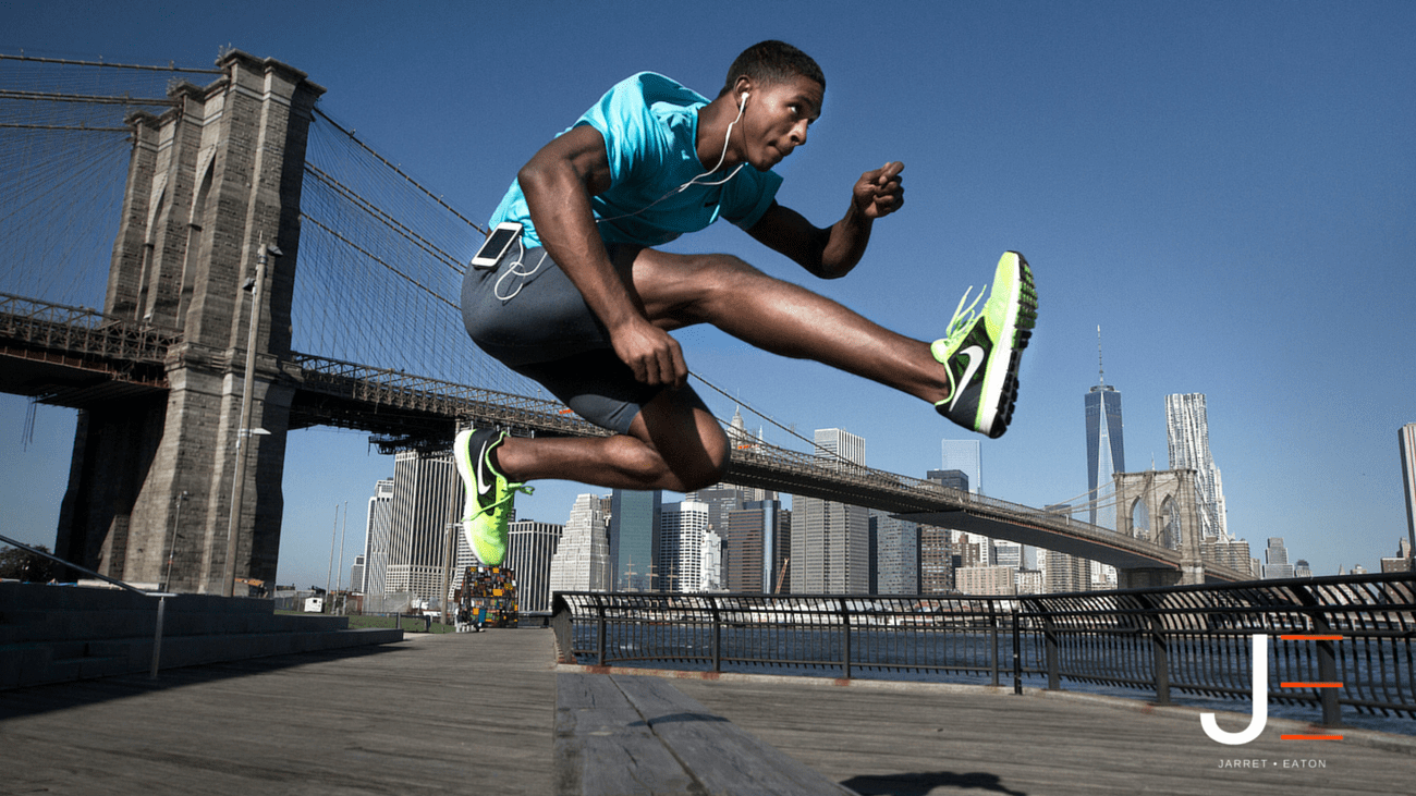 Jarret Eaton • Pro Athlete in NYC