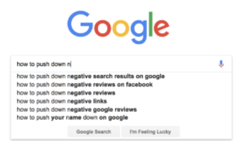push down negative results