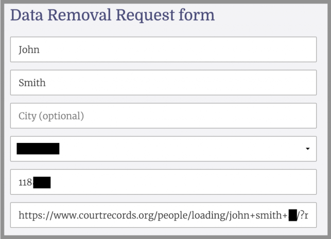 How to Remove Yourself from Court Records