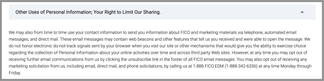 remove yourself from fico opt out removal