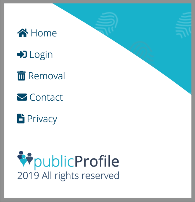 Remove Yourself from Free Public Profile opt out removal