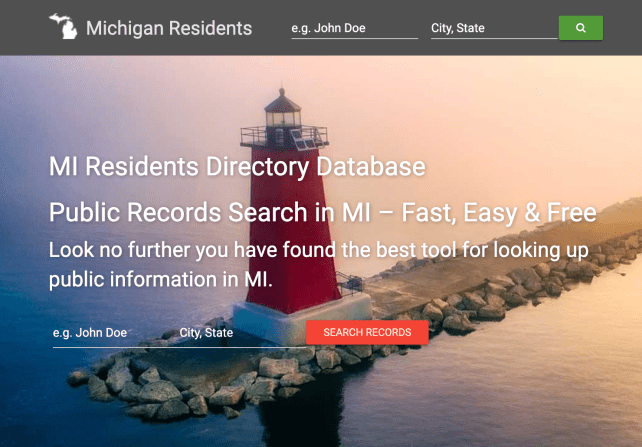 remove yourself from Michigan Resident Database opt out removal