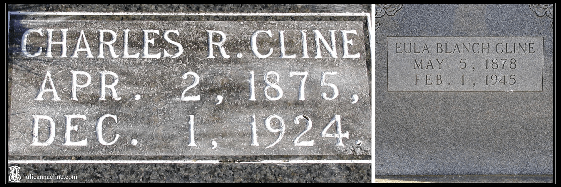 Charles and Eula Cline