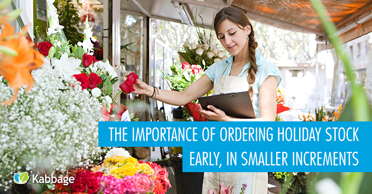 The Importance of Ordering Holiday Stock Early, In Smaller Increments