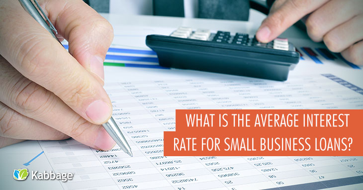 What is the Average Interest Rate for Small Business Loans?