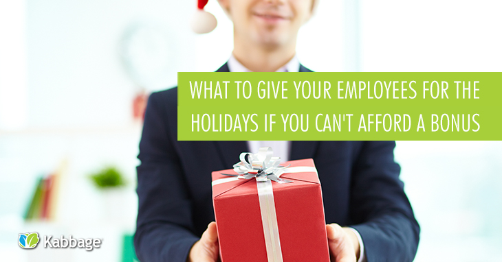 What to Give Your Employees for Christmas if You Can't Afford a Bonus