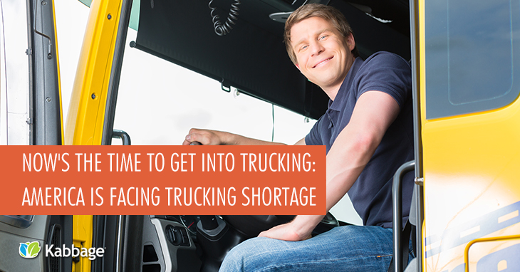 Now's the Time to Get Into Trucking: America Facing Trucking Shortage