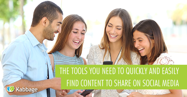 8 Tools to Help You Quickly and Easily Find Content to Share on Social Media