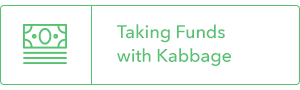 taking funds with kabbage