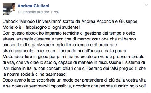 rec Andrea - Università Facile F2