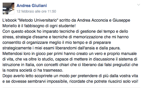 rec Andrea - Università Facile AR