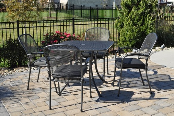 Buy Wrought Iron Patio Furniture including Tables  Chairs   More     Add elegance and durability to your outdoor entertainment areas with wrought  iron furniture  Our KETTLER wrought iron chairs and tables are perfect for  both