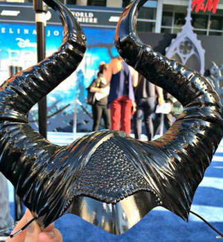 The actress who was the real-life reference for Maleficent wore the horns all day