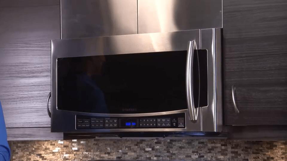 samsung over the range microwaves
