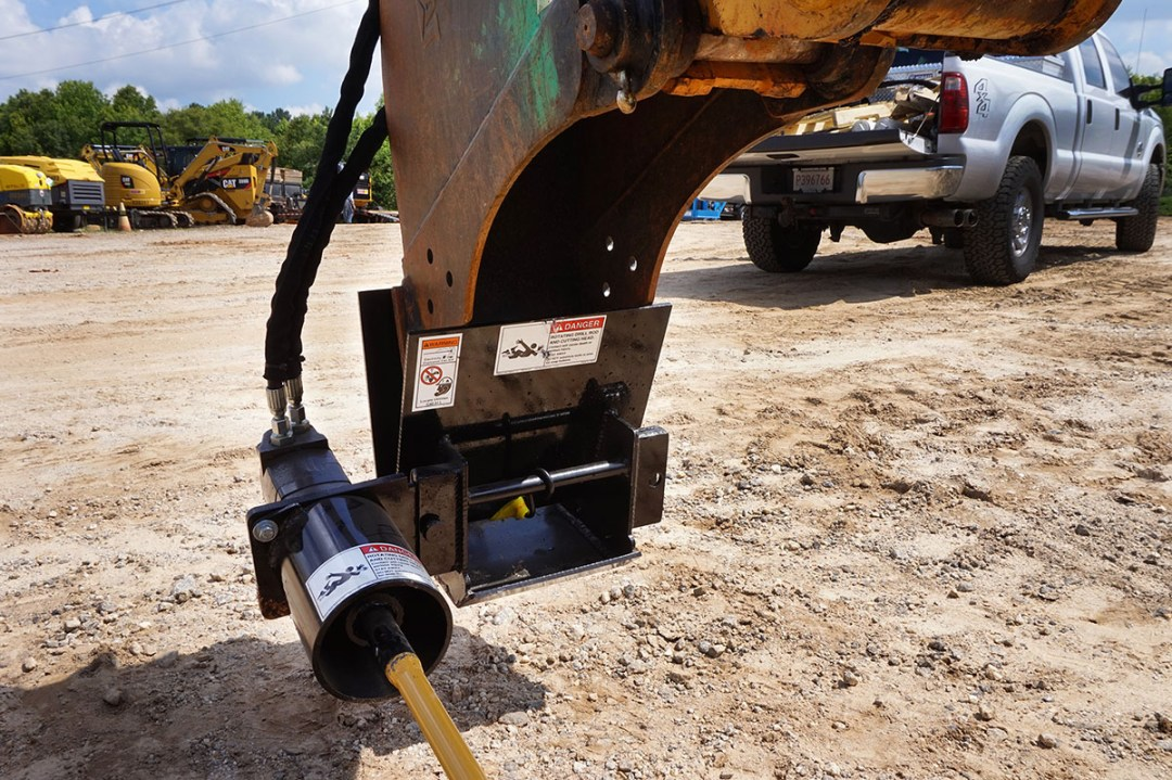 McLaughlin Mini Excavator attachment