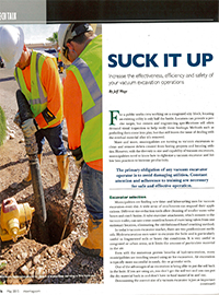 Municipal Sewer & Water: Get More Out Of Your Vacuum