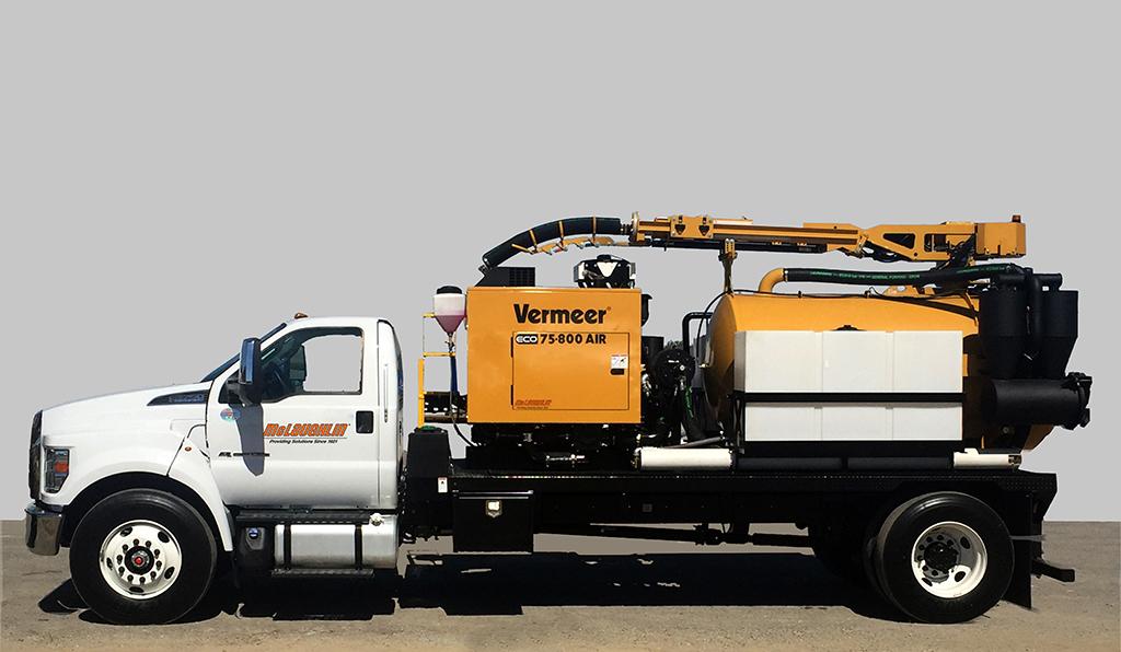 McLaughlin Introduces Vermeer ECO75 and VX75 Vacuum Excavators For Utility Market