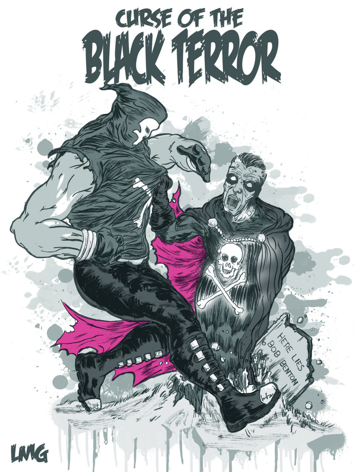 New Black Terror vs the old, by Lawrence Gillette.