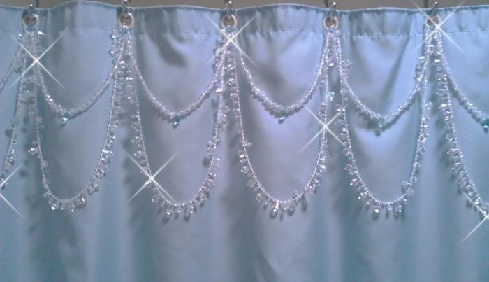 shower curtain bling indiegogo