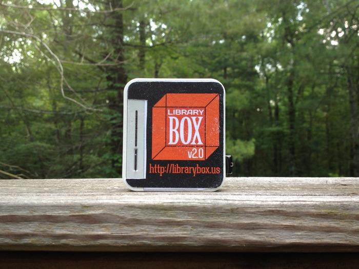 Découvrez le projet coup de coeur du blog: La LibraryBox, Hotspot WiFi