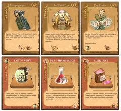 Spell Card & Component Cards