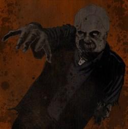 Zombie Priest by Chris Martinez