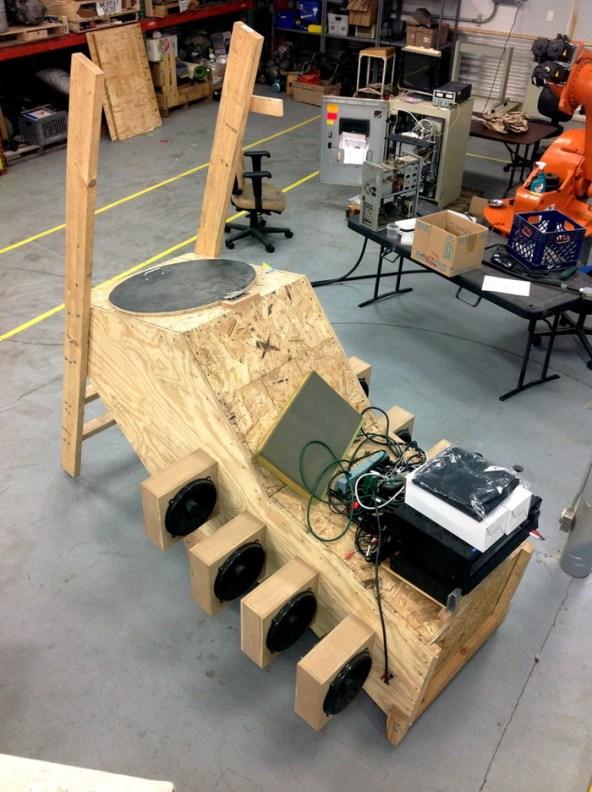 Giant Speaker - Milwaukee Makerspace