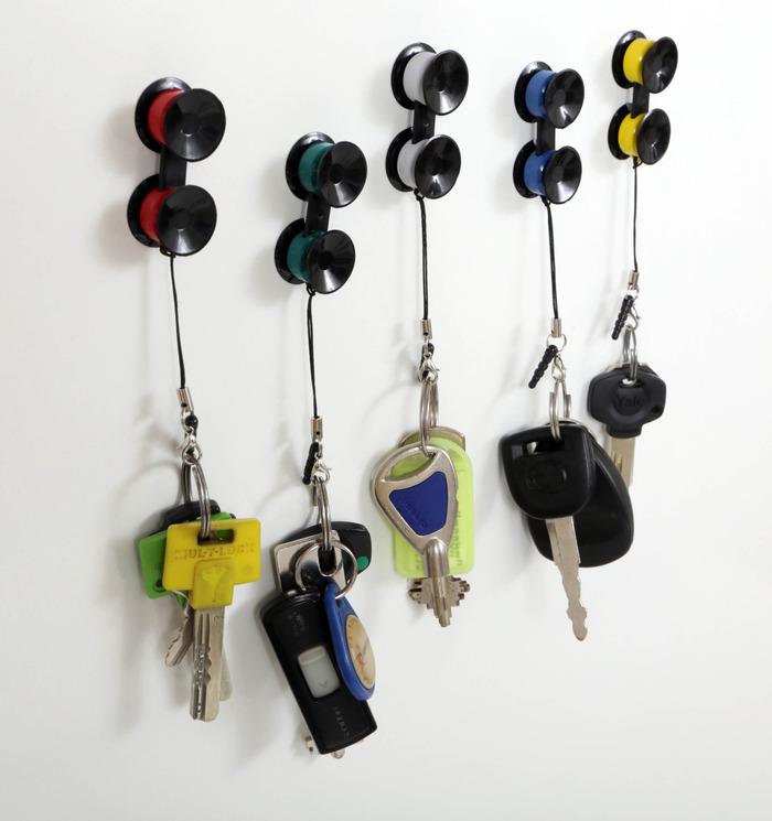 Attach Sticko to your keys