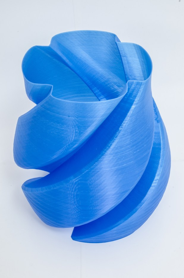 Propellor vase by jameswood - Scaled up to a height of 250 mm