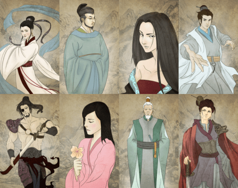 Art for Eternal Dynasty is provided by the talented Lea Segarra.