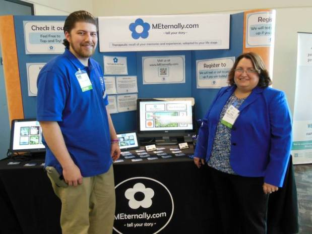 Kai and Sally at the Meeting of the Minds Dementia Conference in St. Paul, MN on March 1st