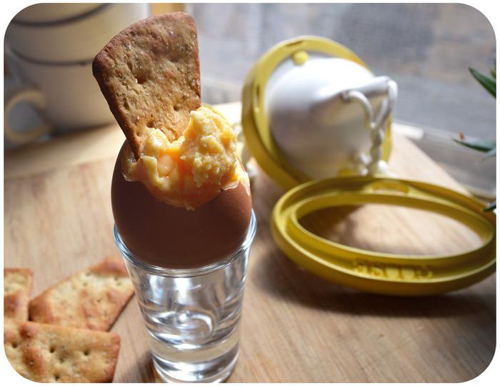 Des œufs à la coque vraiment originaux