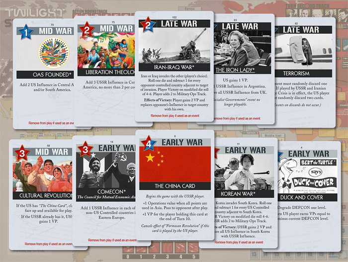 Twilight Struggle KickStarter Update