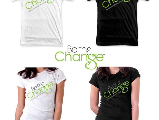 Kickstarter Project for Be the Change
