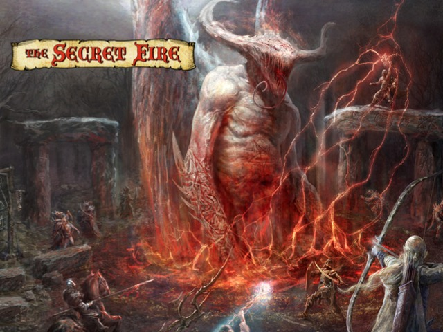 Secret Fire RPG: The Way of Tree, Sword & Flame