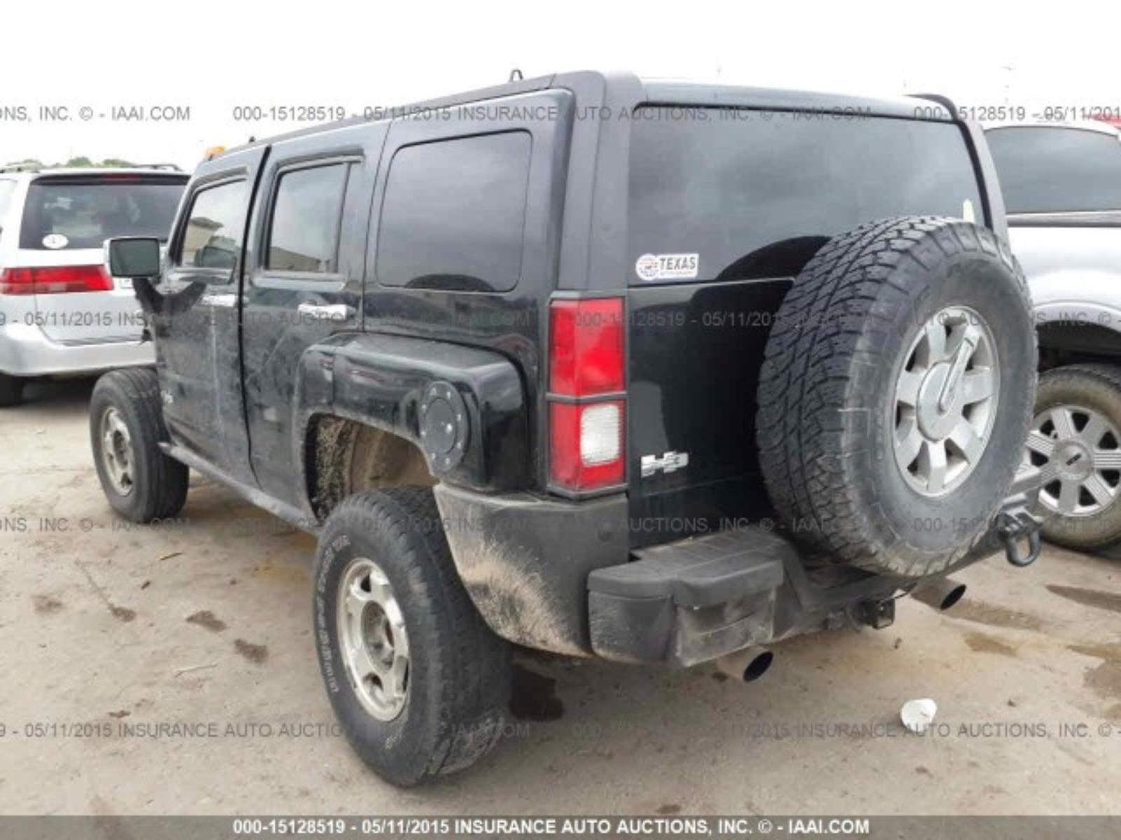 2006 06 HUMMER H3 Rear Axle Differential Assembly Z85 Opt