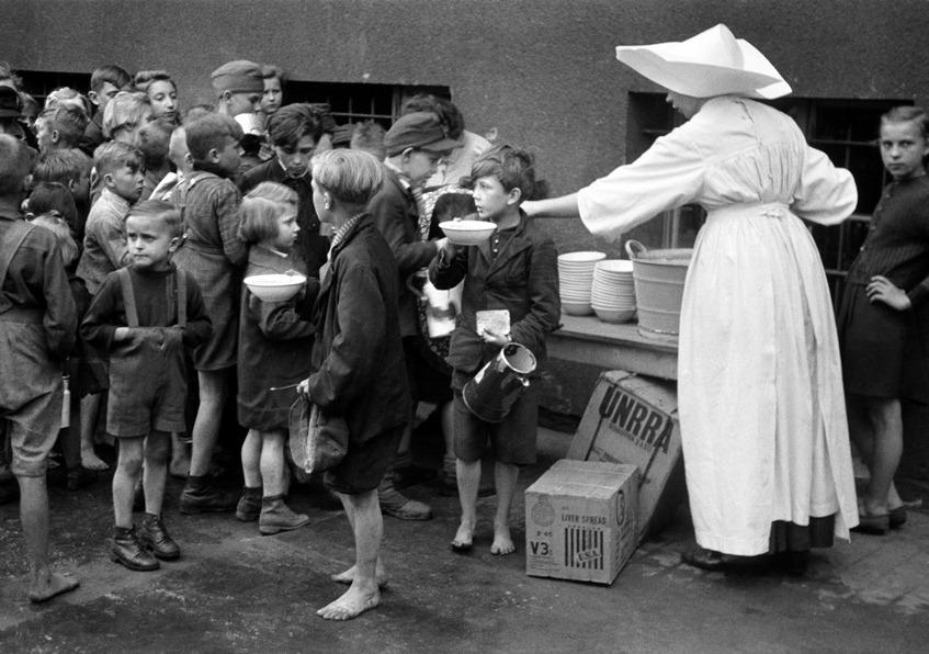Image result for unrra germany 1945