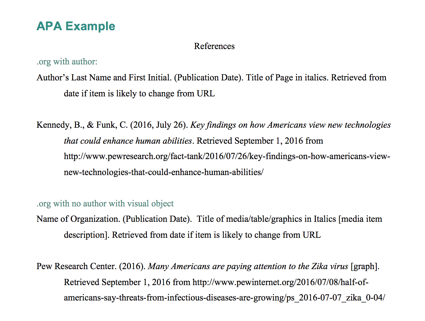 Explanation Amp Example