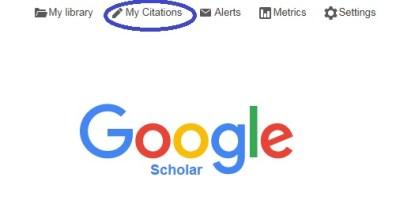 An image of the Google Scholar logo.