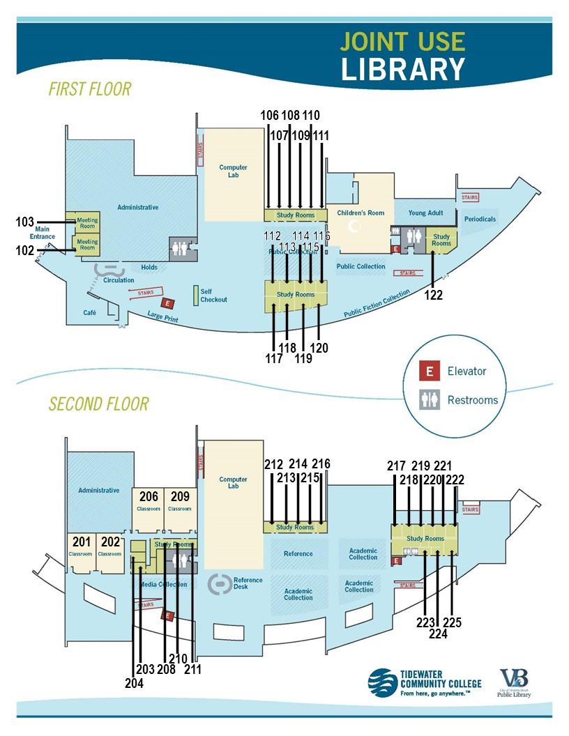 Virginia Beach Tcc Campus Map