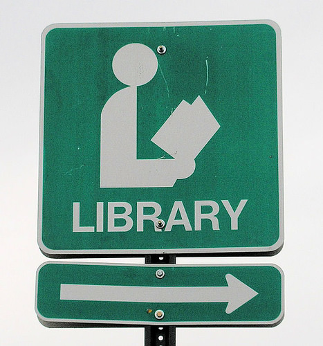 library_sign