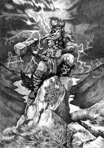 Thor_by_Abrar_Ajmal