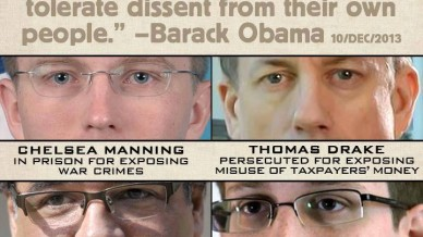 Obama does not tolerate dissent.