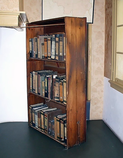 Secret Annex bookcase