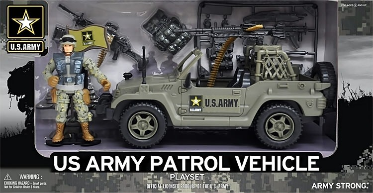 Army patrol vehicle