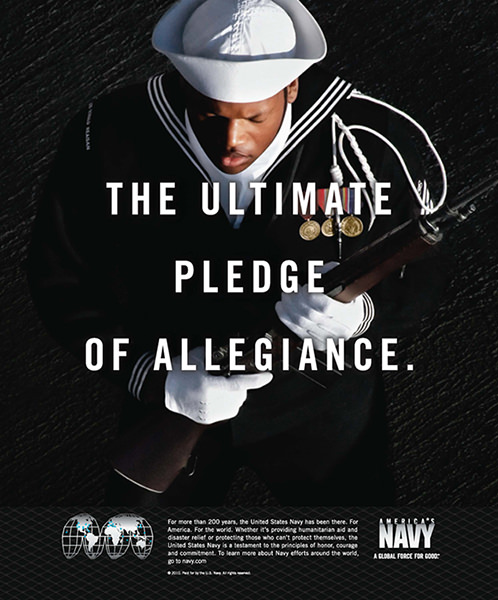 Navy ultimate pledge